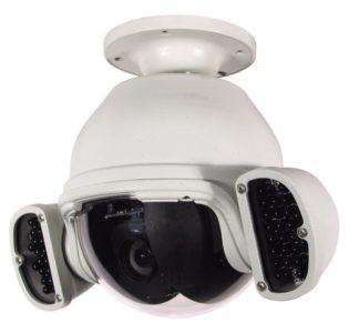 360 Vision Technology External Black Hawk IR Dome