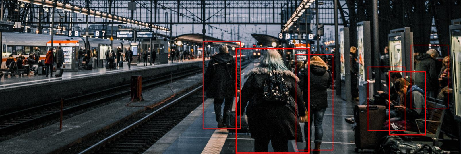 Video Analytics at train station