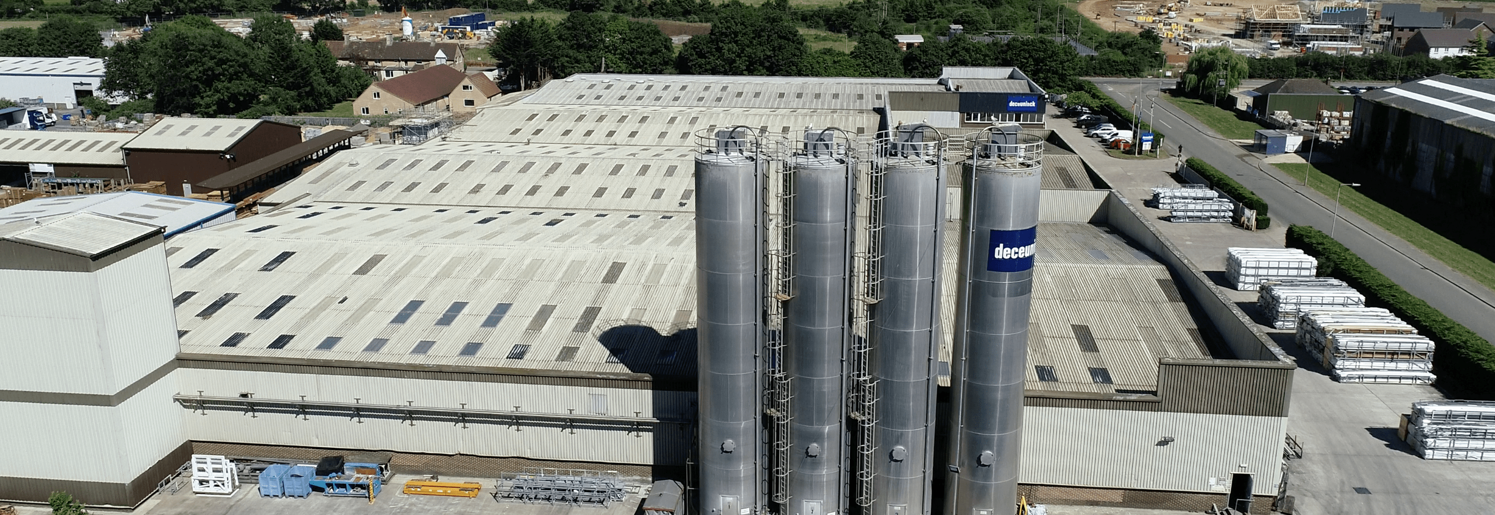 Deceuninck aerial view